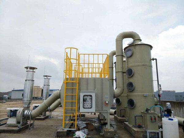 酸雾废气处理设备原理与优点说明