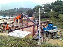 建筑垃圾处理生产线挑起破碎碾压大梁