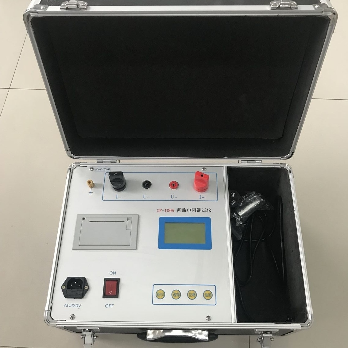 抗干扰接触回路电阻测试仪