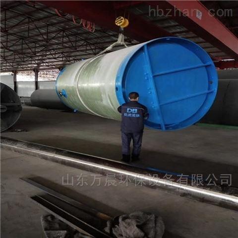 一体化雨水提升泵站制作