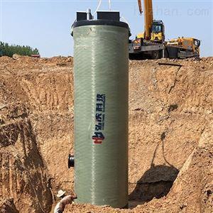 玻璃钢一体化预制泵站厂家污水提升泵站排名