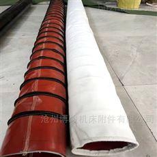 帆布水泥除尘伸缩布袋生产加工