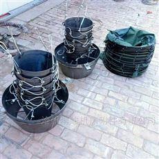 济南铁串落筒外套收尘帆布伸缩袋生产