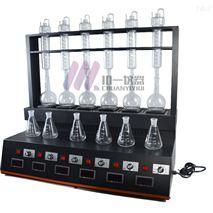 全自动蒸馏仪CYZL-6C二氧化硫蒸馏器