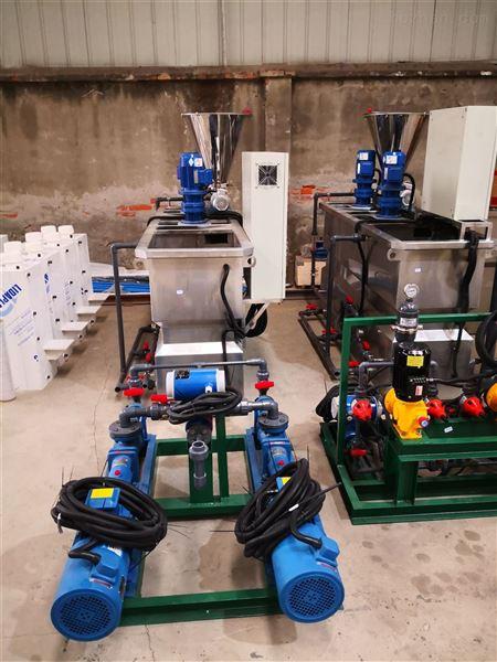 全自动不锈钢pac/pam三槽式干粉投药系统