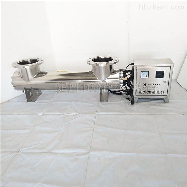 一体式埋地不锈钢UV紫外线消毒净水装置