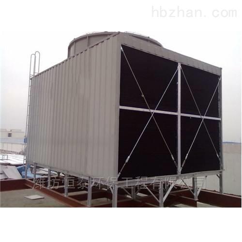 方型横流式冷却塔的原理