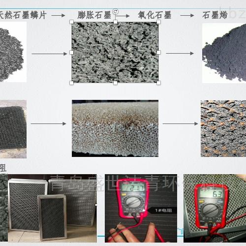 石墨烯基光催化氧化模块