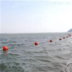水库进水口前拦污索 航道取水口拦船浮标