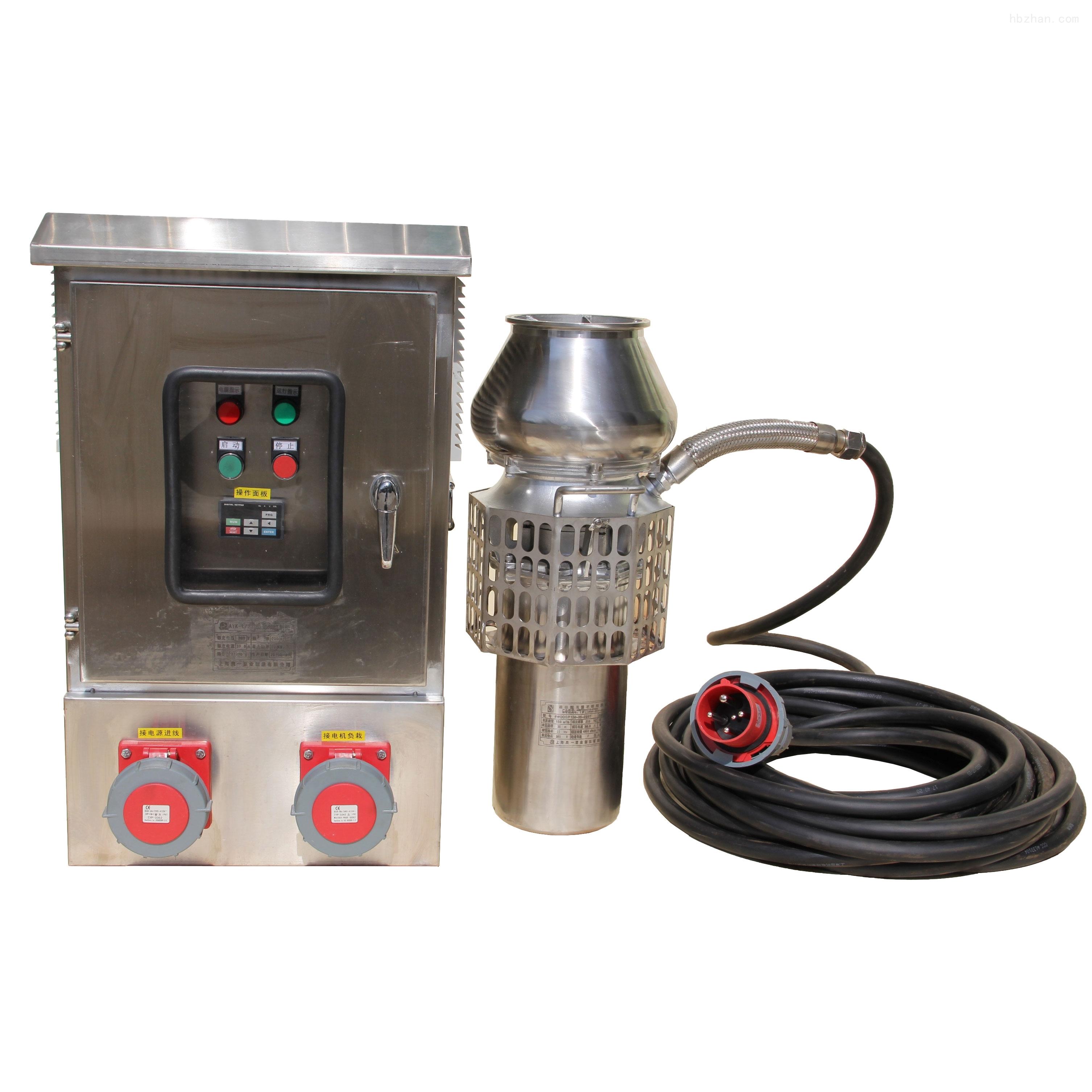 超轻便携式防汛抢险潜水电泵