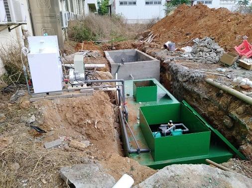 达州疾控中心实验室污水处理设备