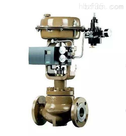 气动薄膜三通合流调节阀