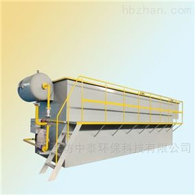 工业废水气浮机的处理工艺
