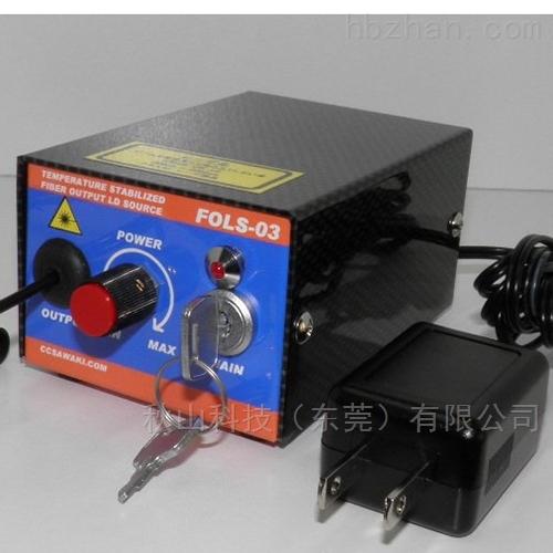 日本ccsawaki温控型MM光纤输出高输出LD光源