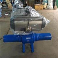 Q661F气动全焊接式球阀