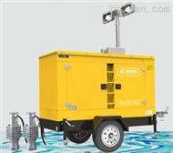 移动式柴油机排涝泵车