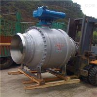 Q667F气动固定式焊接球阀