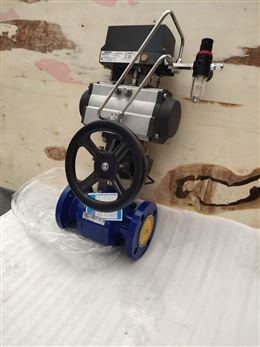 单作用气动陶瓷球阀