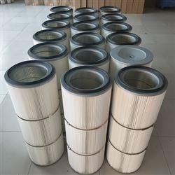精密覆膜粉塵濾筒 可大功率多次反吹