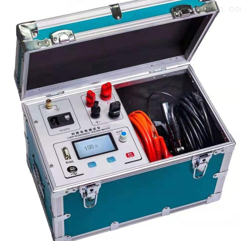 智能100A开关回路电阻测试仪