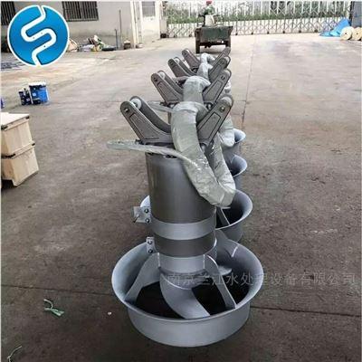 QJB2.5/8-400/3-740污泥浓缩池冲压式潜水搅拌器