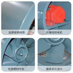SWF-I-150w-9126m³/h-380VSWF混流加压风机 5.5-150W大型排烟管送风机