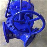 Q342F/Q342H蜗轮120度Y型三通球阀