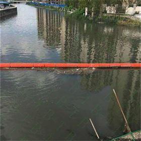 FT200*1000一体式浮筒串联浮在水面拦截水面漂浮垃圾