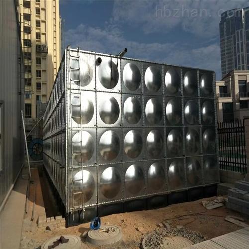 润平供水 装配式水箱消防供水 不锈钢水箱