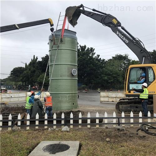 处理污水排污除臭 一体化预制泵站