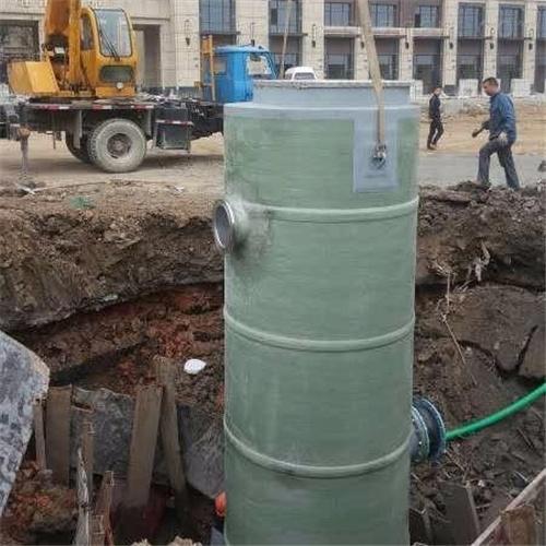 建筑废水污水排污除臭 一体化预制泵站