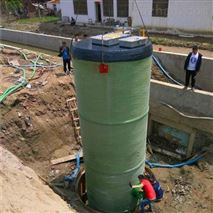 润平供水 玻璃钢格栅 一体化预制泵站