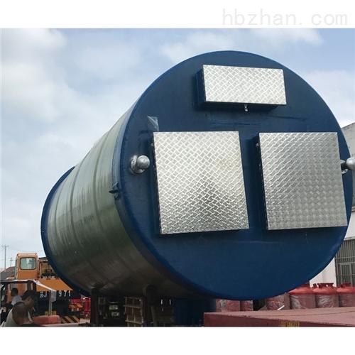 润平供水 城市雨水收集 一体化预制泵站