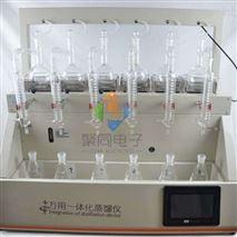 甘肃智能一体化蒸馏仪JTZL-6Y水质分析