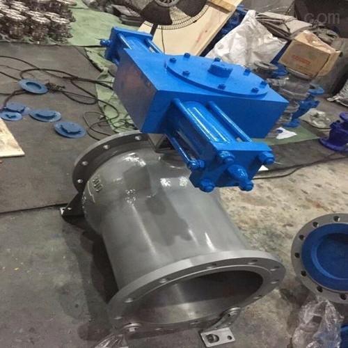 喷煤粉卸灰电动半球阀