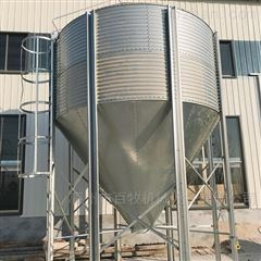 养殖场用镀锌板料塔的好处