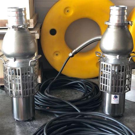 大流量防汛潜水泵