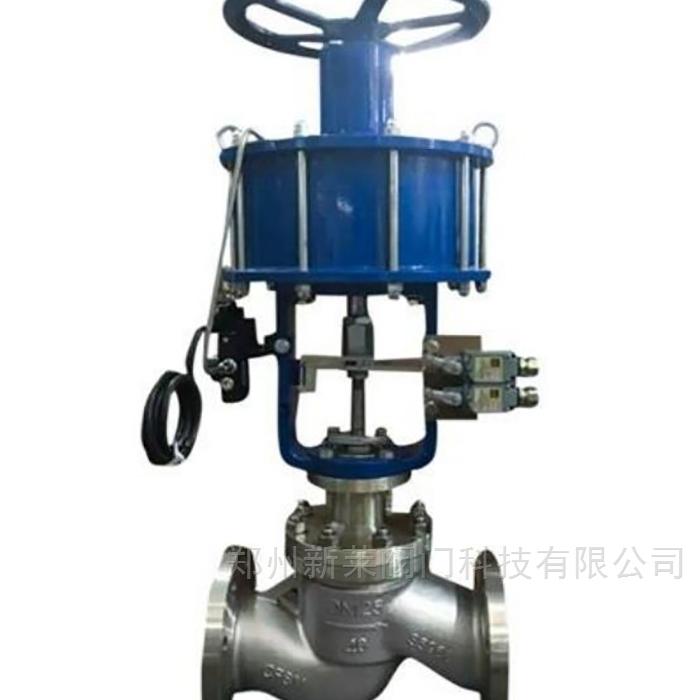 J641W气动带手动不锈钢截止阀