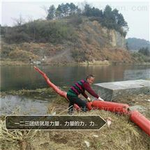 河道垃圾拦网浮体
