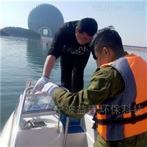 海上风景区警示浮筒
