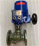 Q941F46QT型防爆电动衬氟球阀