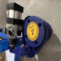 BZ643TC气动摆动式陶瓷进料球阀