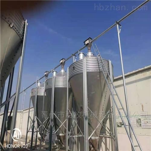镀锌板料塔-养殖料塔日常维护和使用