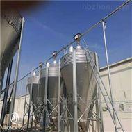 BM养鸡场20吨全自动料塔厂家-镀锌板料塔