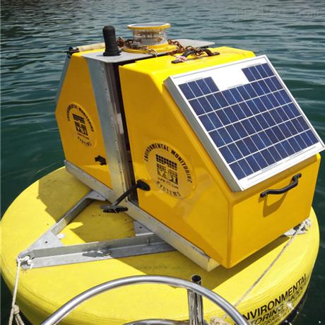 带太阳能板续航长海上助航浮标