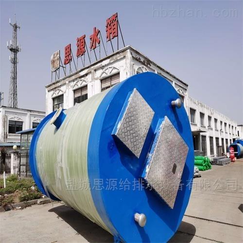 无锡全地埋式污水提升泵站的优势