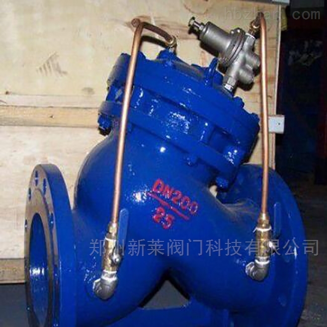 YX741X水力多功能可调式减压阀