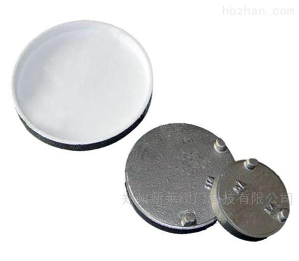 给水衬塑沟槽卡箍堵头盲板