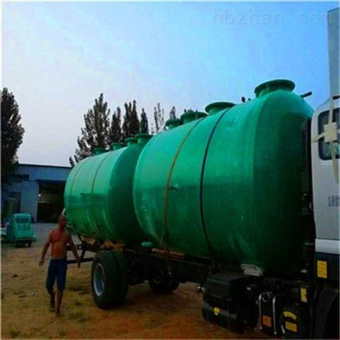 玻璃钢污水处理系统