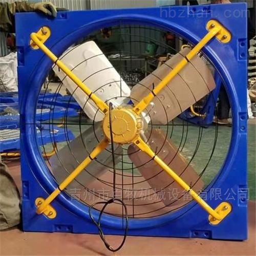牛舍风机的安装工作